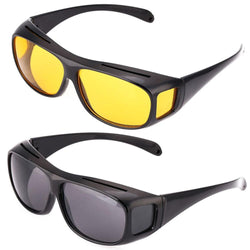 Car Night Vision Sunglasses Night Driving Glasses Driver Goggles Unisex Sun Glasses UV Protection Sunglasses Eyewear