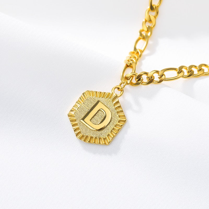 Ankle Bracelet for Women Gold Initial Stainless Steel Letter Leg Chain Men Ankle Bracelet A-Z Alphabet Anklet Christmas Gifts