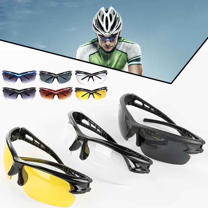 Cycling Sun Glasses Bike Bicycle Eyewear Men Women Outdoor Sport MTB Sunglasses Goggles MTB Sunglasses Bicycle Accessories TSLM1