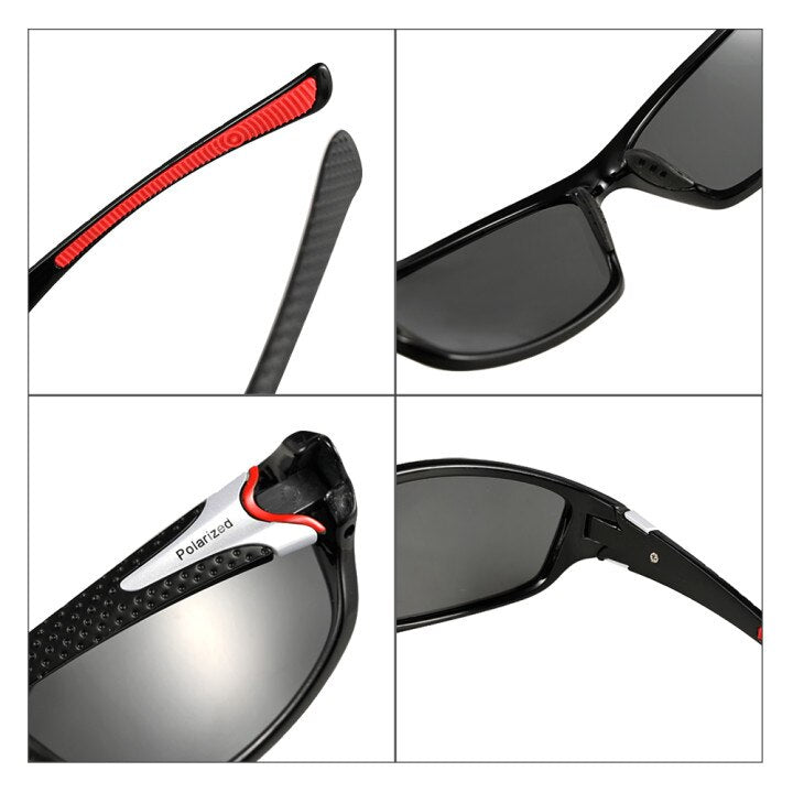 Classic UV400 Polarized Sunglasses Men's Driving Shades Male Sun Glasses Vintage Driving Travel Fishing Sun Driver Goggle