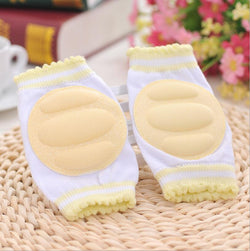 1 Pair Kids Safety Crawling elbow kneepad cushion Toddlers Baby Girls Boys Knee Pads Protector Safety Mesh Infant leg warmer