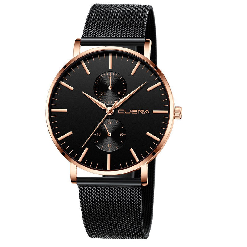 Black 3bar Watch Men relogio feminino montre femme Women'S Watches Ladies Watch With Crystals reloj mujer fashion bayan saat