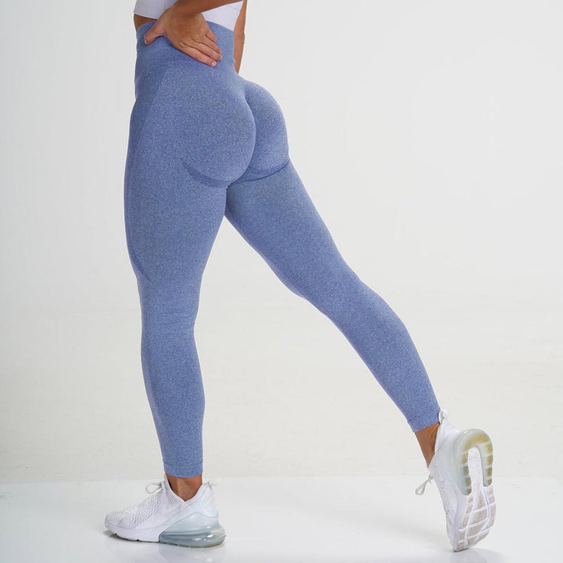 CHRLEISURE Push Up Seamless Leggings for Women Sexy Workout Gym Legging High Waist Fitness Pants Leggins 2020 New Dropship