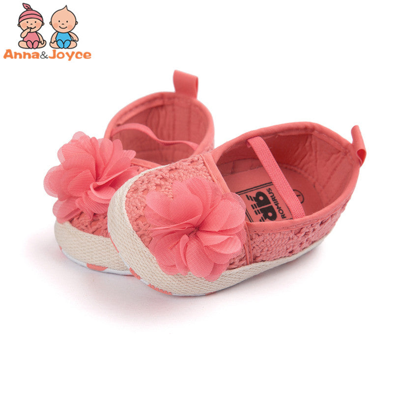 1 Pair Baby Girls Shoes Baby Sandals Soft Bottom Comfortable Shoes, Fashion Baby Princess Baby Shoes