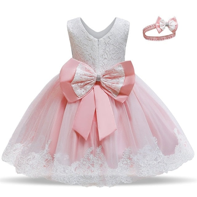 Kids Dress for Girls Summer Dresses for Party and Wedding Christmas Clothing Princess Flower Tutu Dress Children Prom Ball Gown
