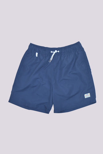 Penfield Seal Swim Shorts in Blueprint