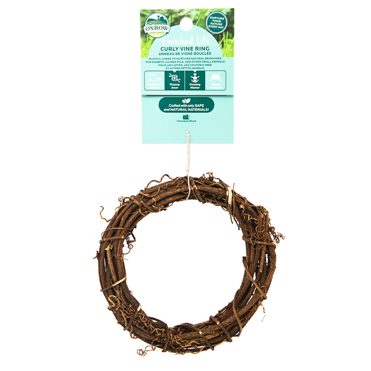 Oxbow Enriched Life - Curly Vine Ring Natural Chew