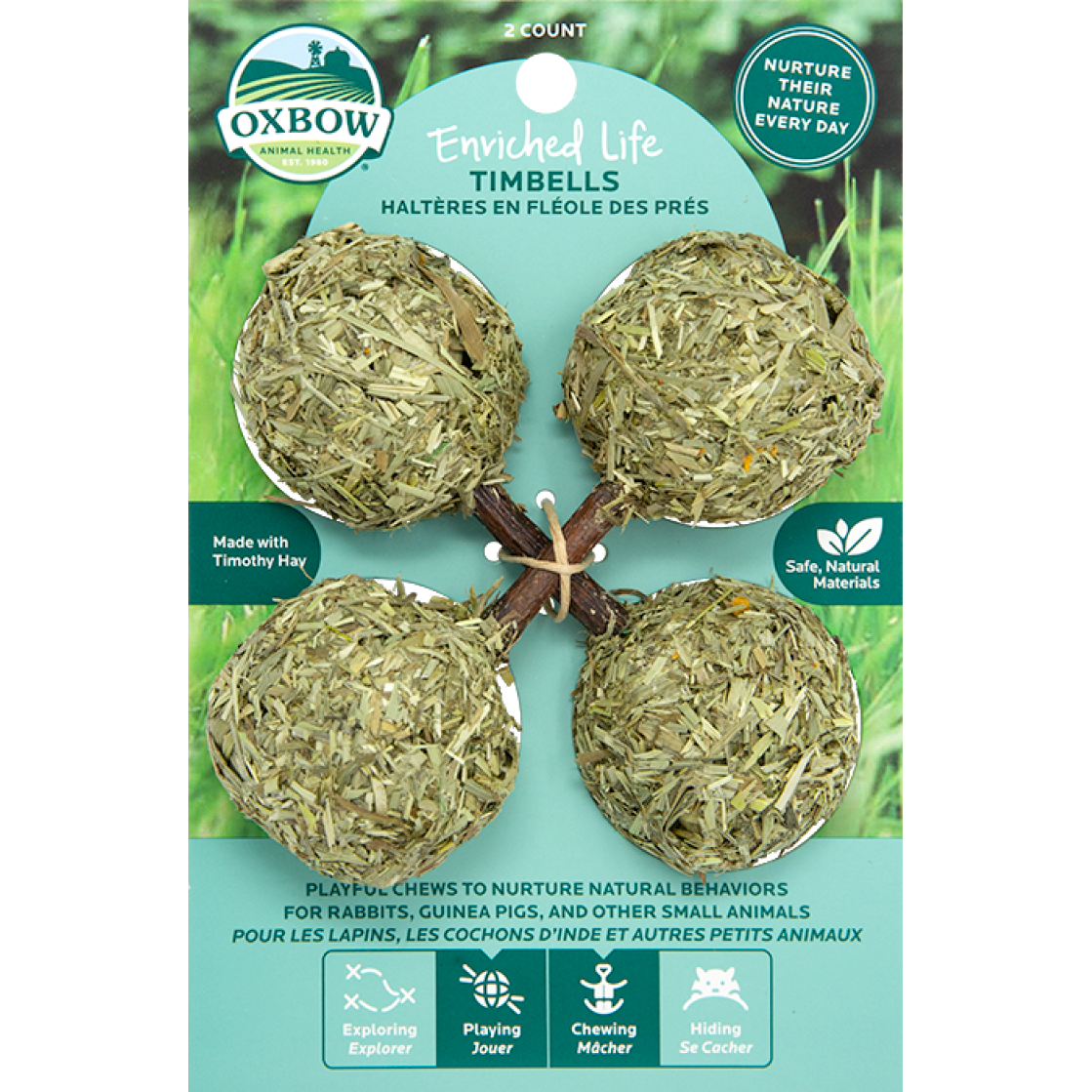 Oxbow Enriched Life Hay Chew Treats - Timbells