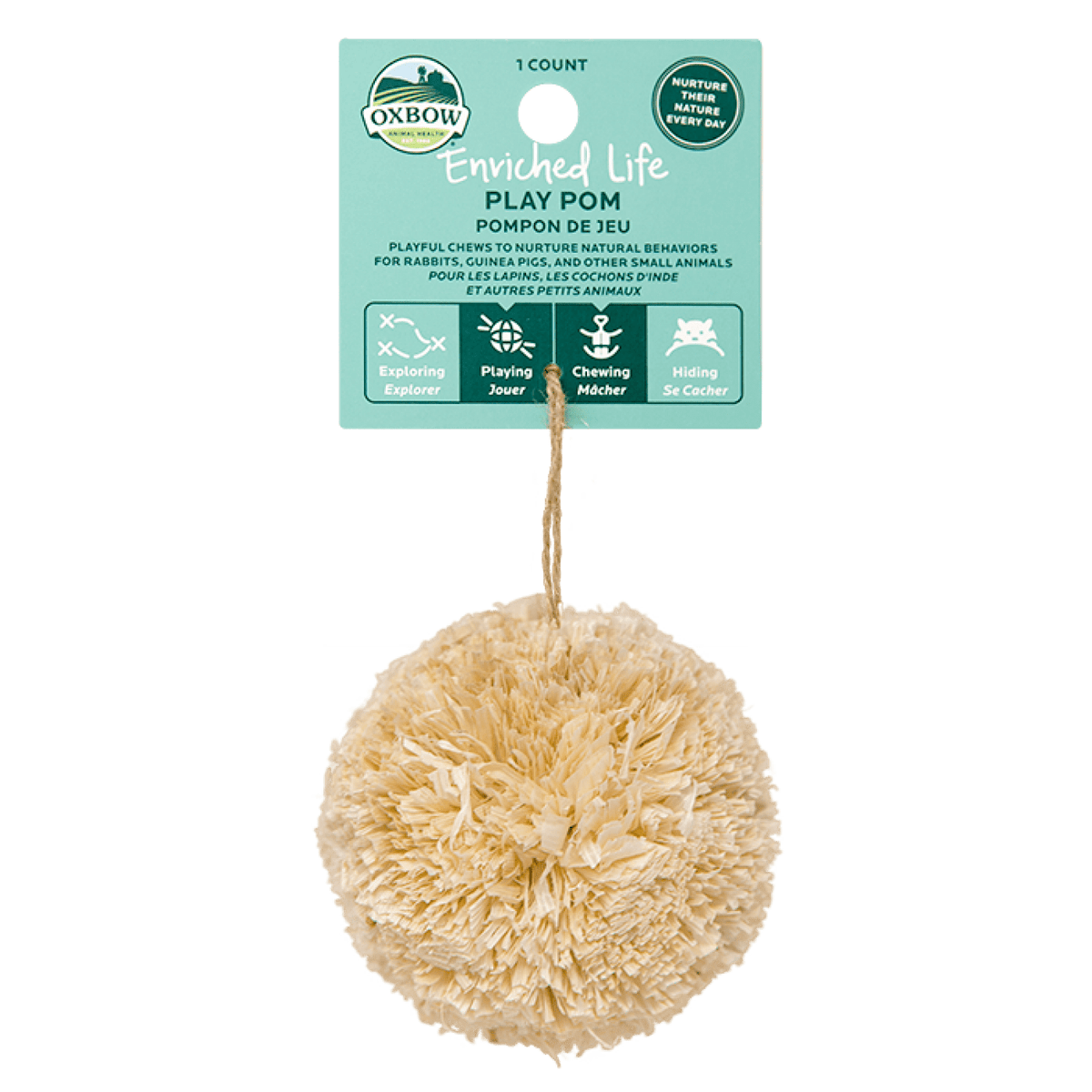 Oxbow Enriched Life Toys - Play Pom