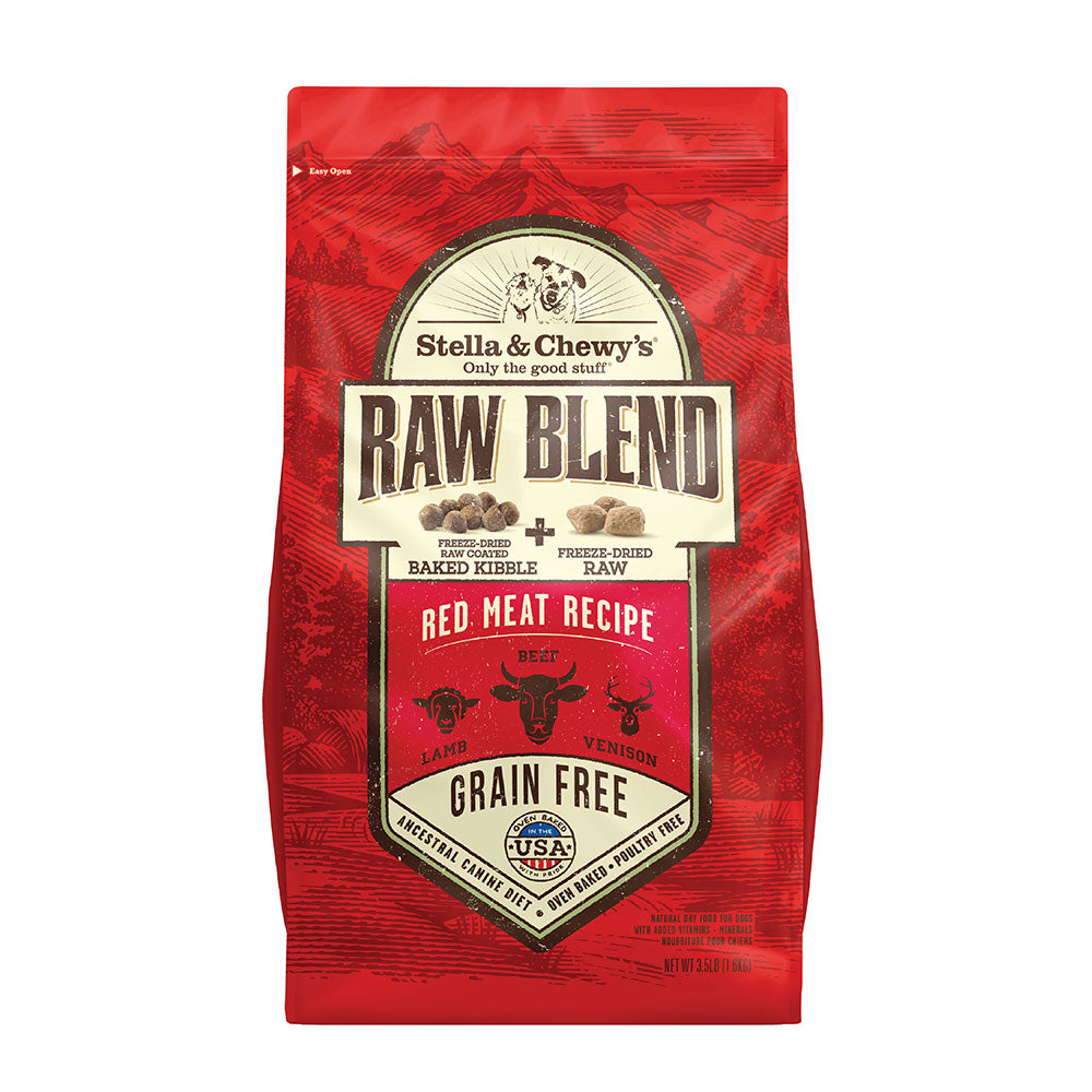Stella & Chewy's - Raw Blend - Red Meat Recipe Dog Food