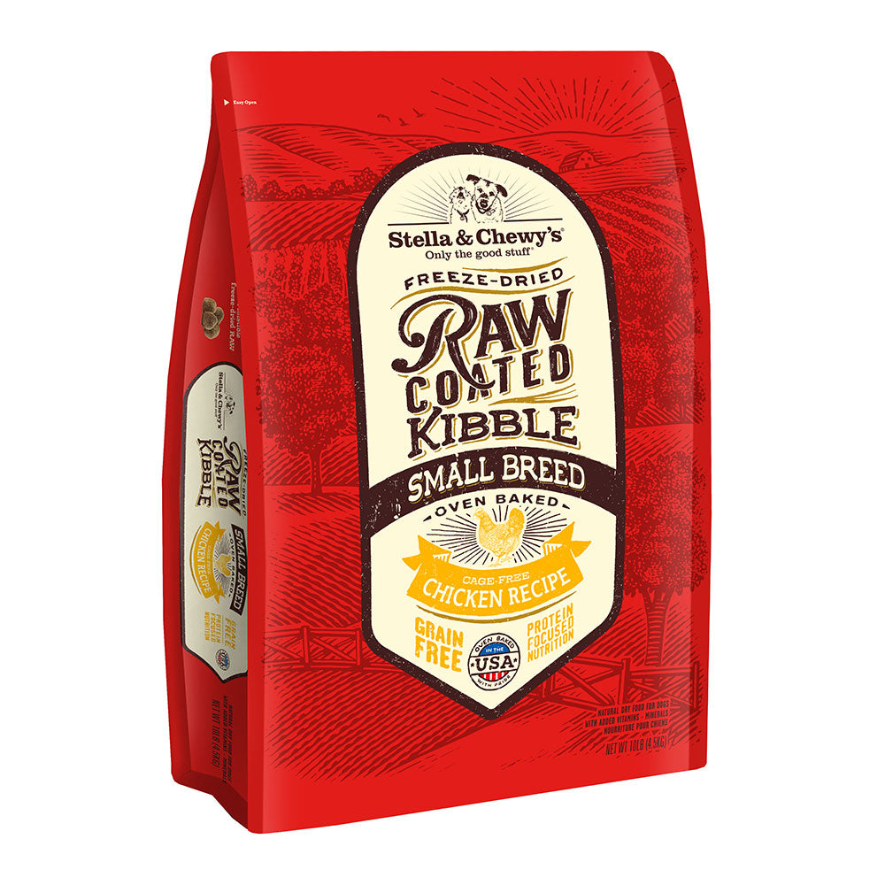 Stella & Chewy's - Raw Coated Kibble - Cage-Free Chicken for Small Breeds Dog Food