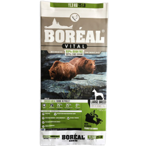 Boreal Vital Large Breed Chicken Meal - Dog Food (11.3kg)