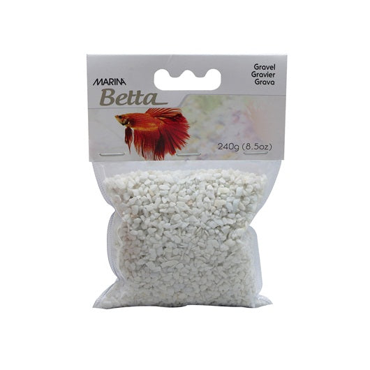 Gravier époxy blanc Marina Betta, 240 g (8,5 oz)
