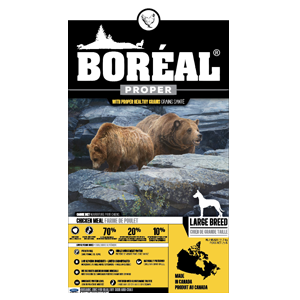 Boreal Proper Large Breed Chicken Meal - Dog Food (11.3kg)