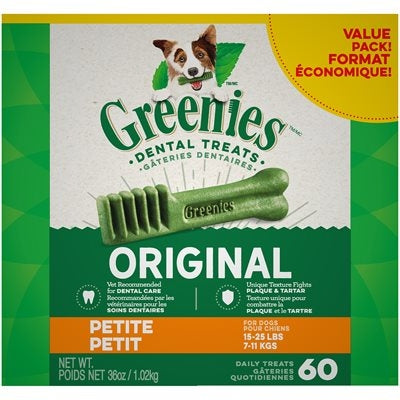 Greenies Value Pak Petite 36oz