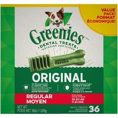 Greenies Value Pak Regular 36oz