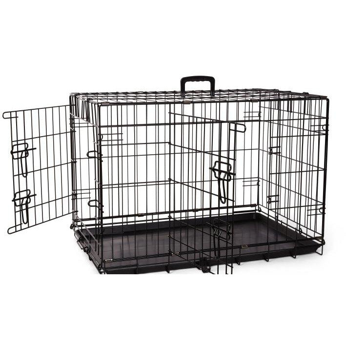 "Bud'z Deluxe Dog Crate / Cage - 76 x 48 x 53cm (30"")"