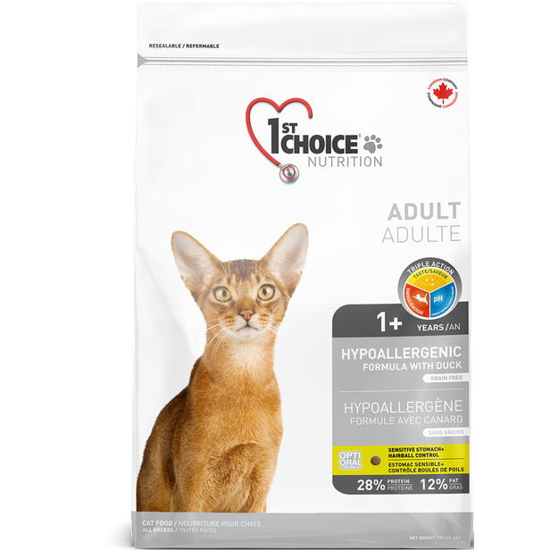 1st Choice Hypoallergenic Cat Food (2.72kg, 5.4kg)