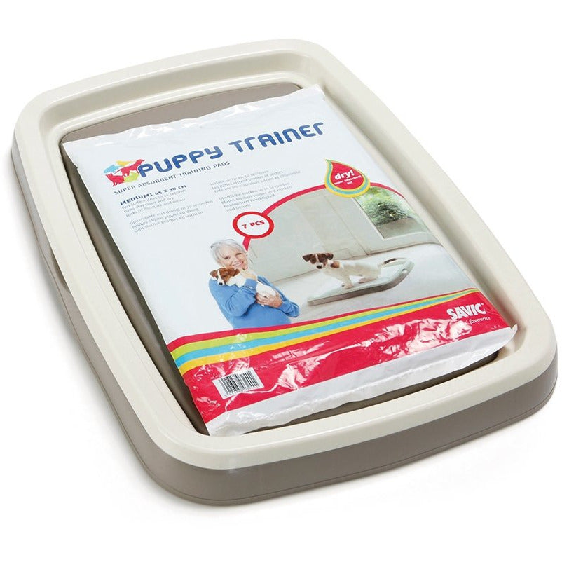Savic Puppy Trainer Starter Kit Large - Tray and Pads
