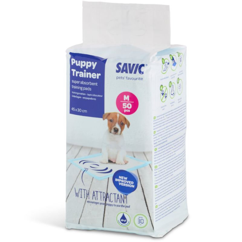 Savic Puppy Trainer Medium Pads - 50pcs