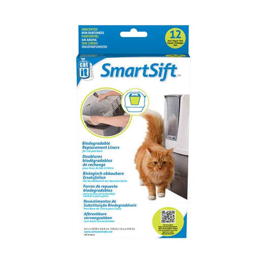 Smart Sift Replacement Liners - for cat pan base