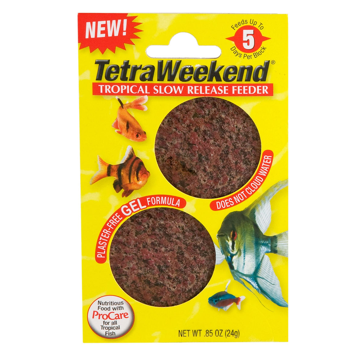 Tetra Weekend Tropical Fish Food Feeding Block