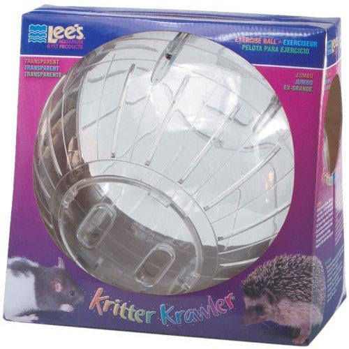 "Lee's Kritter Krawler Exercise Ball for Small Animals (5"", 7"", 10"", 12.5"")"