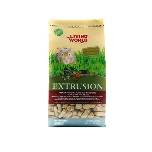 Régime d'extrusion Living World pour hamsters, 680 g (1,5 lb)