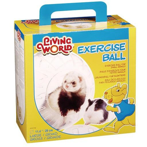 Living World Exercise Ball w/stand, Large