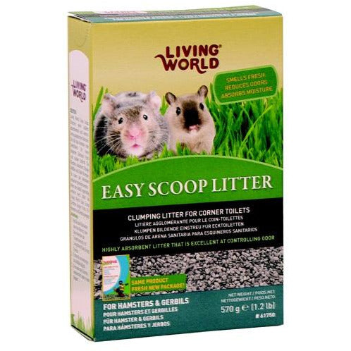 Living World Easy Scoop Litter (570g)