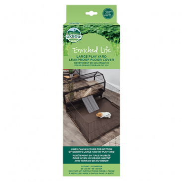 Oxbow Enriched Life - Leakproof Play Yard Floor Cover (L)