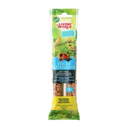Living World Canary Sticks - Fruit Flavour - 60 g (2 oz), 2-pack