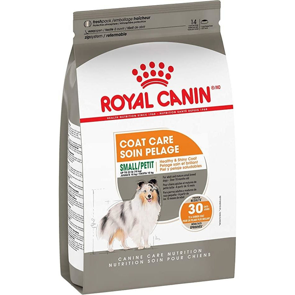 Royal Canin Small Coat Care Dry Dog Food