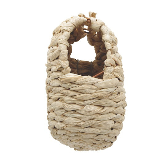 Living World Maize Peel Bird Nest for Finches, Large