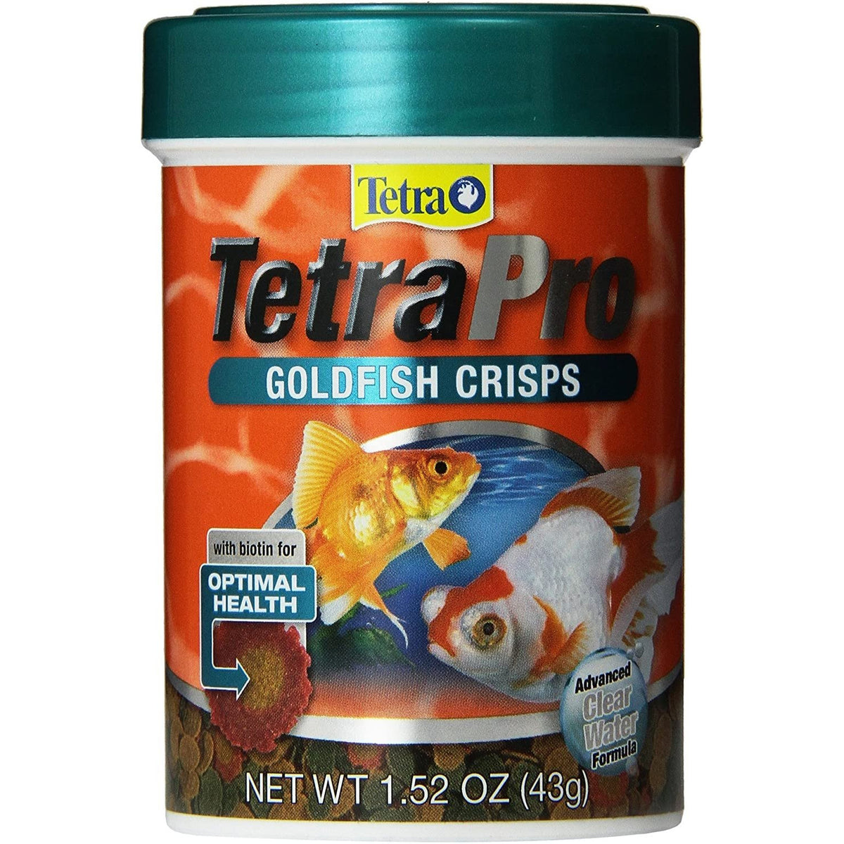 Tetra TetraPro Goldfish Crisps Fish Food (43g)
