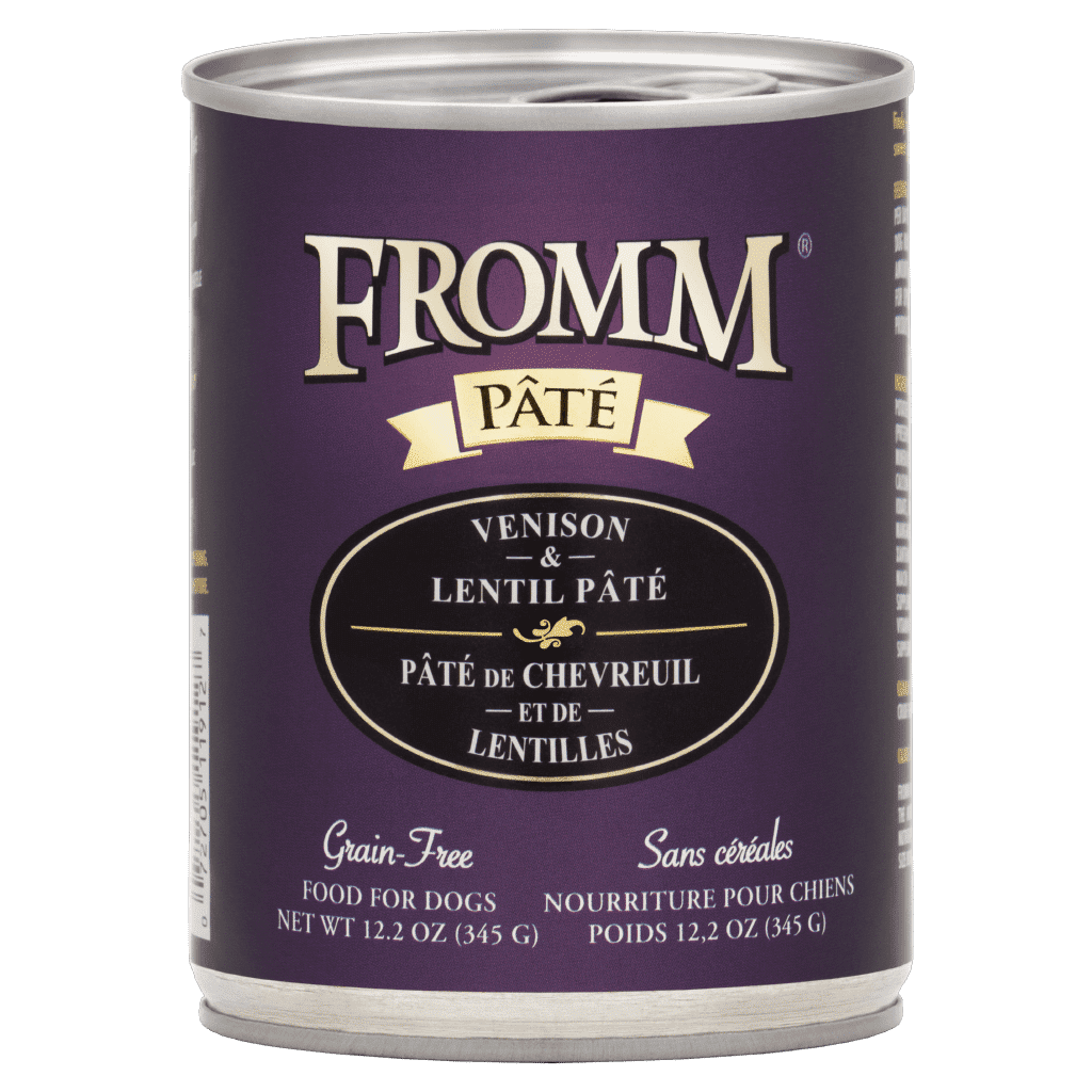 Fromm Pâté / Gold - Venison & Lentil - Canned Dog Food (345g)