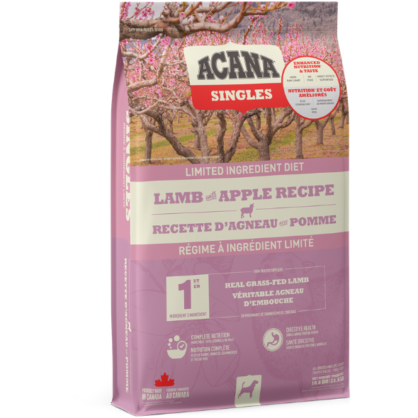 Acana Singles Limited Ingredient Diet - Lamb with Apple - Dog Food