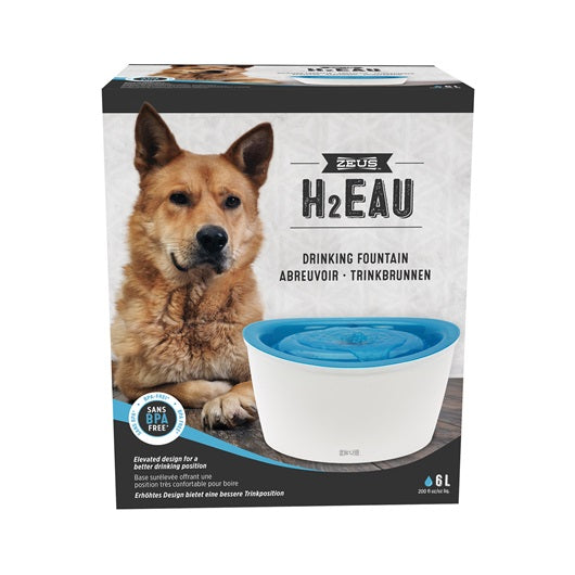 Zeus H2EAU Dog Drinking Fountain - 6 L (Dogit)