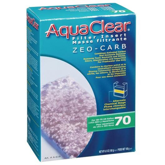 AquaClear 70 Zeo-Carb, 180 g (6.3 oz)