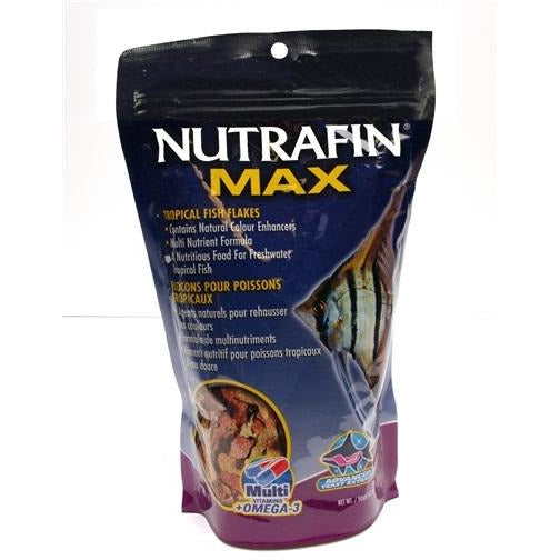 Nutrafin Max Tropical Fish Flakes - 180 g (6 oz)