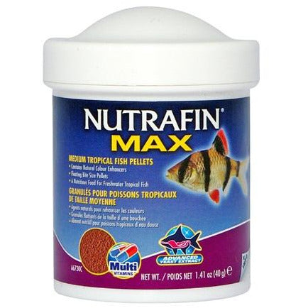 Nutrafin Max Medium Tropical Fish Pellets