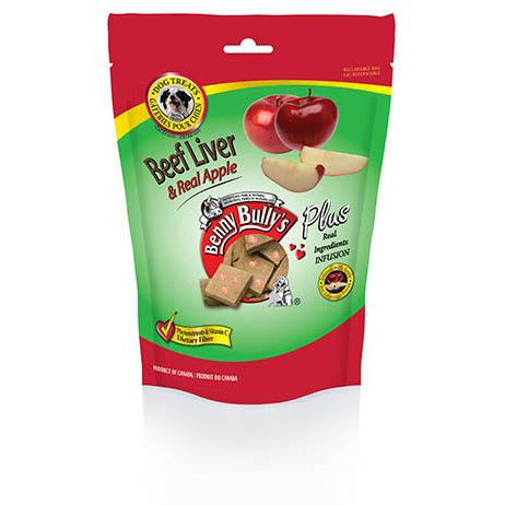 Benny Bully's Plus Beef Liver and Real Apples