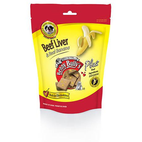 Benny Bully's Plus Beef Liver and Real Banana Treats