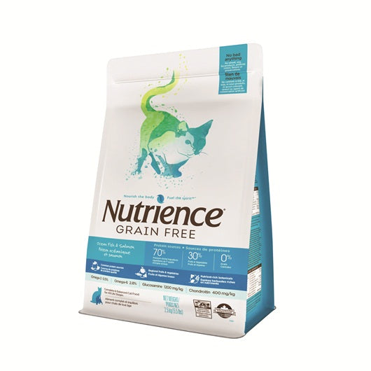 Nutrience Grain Free Ocean Fish & Salmon Cat Food (2.5 kg)