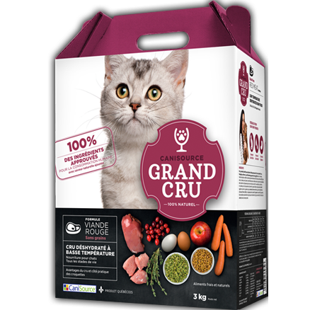 CaniSource Grand Cru Grain-Free Red Meat - Cat Food (1kg)