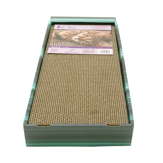 Cat Love Scratcher Incline with Catnip - 48 x 20 x 26 cm