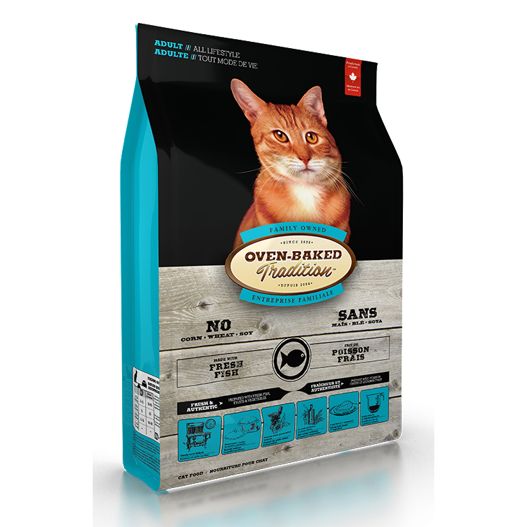 Oven Baked Tradition Fish Cat Food (2.5lbs)