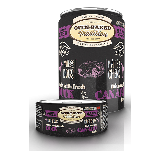 Oven Baked Tradition - Duck Pâté for dogs (5.5oz, 12.5oz)