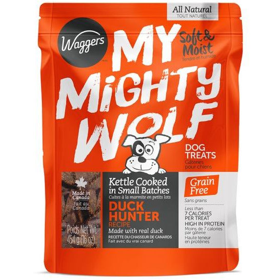 My Mighty Wolf Duck Hunter Dog Treats