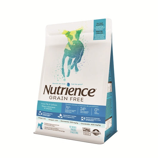 Nutrience Grain Free Ocean Fish & Salmon Dog Food (2.5kg)